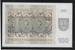 Lituanie - 100 Talonas -  Pick N°38b  - NEUF - Lithuania