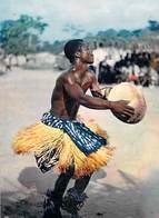 Afrique En Couleurs Africa In Pictures - Danseur Africain Dancer  (B) (danse )(- Editions : HOA QUI N°3644) *PRIX FIXE - Postcards