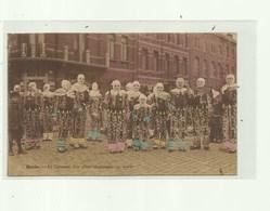 Binche - Le Carnaval  - Zeldzame Uitgave    - Stempel Binche 1930 - Binche
