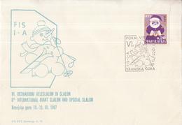 Joegoslavië -10-03-1967 - 6th Interational Giant Slalom And Special Slalom - M 1198 - Skisport