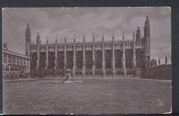 Cambridgeshire Postcard - Cambridge, King's College Chapel    DC1651 - Cambridge