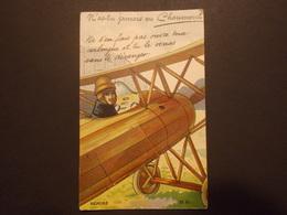 Carte Postale -  CHAUMONT (52) - Depliant Avec Vues - Fantaisie Avion -  (2301) - Mechanical