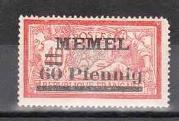 MEMEL YT 34 - Memel (1920-1924)