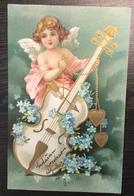 AK   ANGEL  ENGEL   1903.  EMBOSSED - Anges