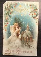 AK   ANGEL  ENGEL   1903.  LITHO - Anges