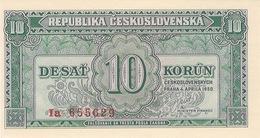 Czechoslovakia 10 Korun 4.4.1950 Pick 69a UNC - Tchécoslovaquie