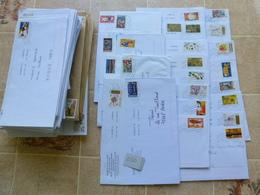200 ENVELOPPES RÉCENTES - Poststempel (Briefe)