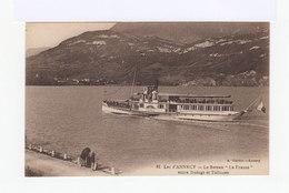 Lac D'Annecy. Le Bateau La France Entre Duingt Et Talloires. (2965) - Annecy