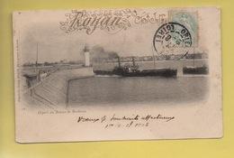 2223 - Départ Du Bateau De Bordeaux ***** - Royan