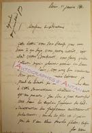 L.A.S 1841 Baron Amiral Albin Reine ROUSSIN Né à Dijon - Mme Boucherot - Lettre Autographe LAS - Marine - Autographes