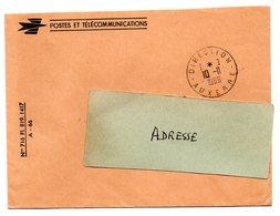YONNE - Dépt N° 89 = AUXERRE DIRECTION 1966 = CACHET Manuel A8 + FRANCHISE - Manual Postmarks