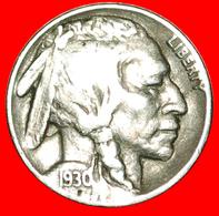 # INDIAN HEAD (1913-1938): USA ★ 5 CENTS 1930 BLACK DIAMOND (1893-1915)! LOW START ★ NO RESERVE! - Emissioni Federali
