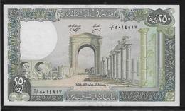 Liban - 250 Livres - Pick N°67 - SPL - Libano