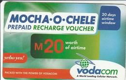 Lesotho - Mocha-o-Chele M20 - Lesotho