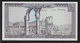 Liban - 10 Livres - Pick N°63 - NEUF - Liban