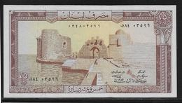 Liban - 25 Livres - Pick N°64 - NEUF - Lebanon