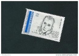 N° 2683 Louis Aragon 1897-1982  Oblitéré 1991 Timbre FRANCE - Usati