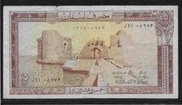 Liban - 25 Livres - Pick N°64 - TB - Libano