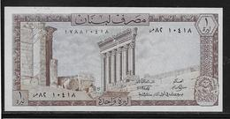 Liban - 1 Livre - Pick N°61 - NEUF - Lebanon