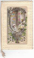 FANTAISIE BRODEE Système Fenêtre Religion Catholique 1ere Communion Cécile THOMAS Communiante Catholique Catholicisme - Brodées