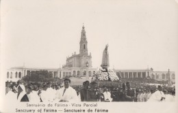 Portugal - Fatima - Santuario - Vista Parcial - Statue Vierge - Santarem