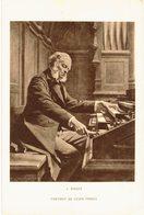 Thème - Musique Et Art - J Rongier : Portrait De César Franck - Orgue - Musique Et Musiciens