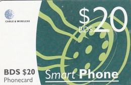 Barbados - Green Smart Phone $ 20 - Barbados