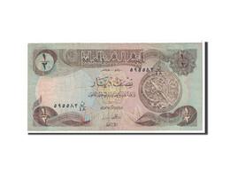 Billet, Iraq, 1/2 Dinar, 1980, Undated, KM:68a, TB - Iraq