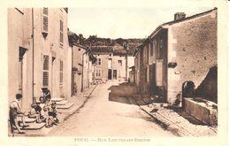 (54) Meurthe Et Moselle - CPA - Foug - Rue Lieutenant Breton - Foug