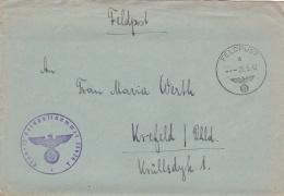German Feldpost WW2: From S Russia - Stab Landesschützen-Bataillon 286 FP 23626A P/m 26.5.1942 - Letter Inside. Wonderfu - Militaria