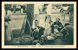 VIETNAM -CONCHINCHINA - SAIGON- Femme Indigéne Vendant Des Friandises (Ed. Photo NADAL  Nº11) Carte Postale - Foires