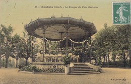 CPA Roubaix, Le Kiosque Du Parc Barbieux (pk47638) - Roubaix