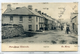 Ireland County Kerry Main Street Waterville 1906 Used Postcard By Lawrence - Kerry