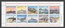 E925 NAURU WORLD WAR WWII THE ROUTE TO VICTORY 1KB MNH - 2. Weltkrieg