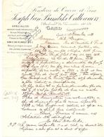Brief Lettre - Joseph Van Bambeke - Callewaert  Gent -  Naar Kadaster 1923 - Sin Clasificación