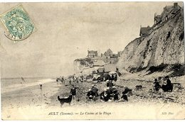80  AULT  -  LE CASINO ET LA PLAGE - France