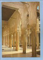 Granada (Andalucia) Alhambra Serie 1 N°38 Arcadas Y Columnas Patio Los Leones 2 Scans - Granada