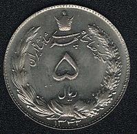 Iran, 5 Rials 1343 (=1964), UNC - Iran