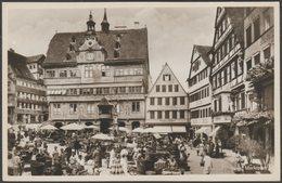 Marktplatz, Tübingen, Baden-Württemberg, C.1940 - Metz Foto AK - Tuebingen