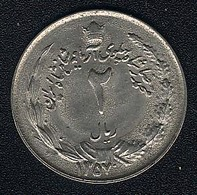 Iran, 2 Rials 1357 (=1978) - Iran