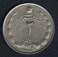 Iran, 2 Rials 1344 (=1965) - Iran