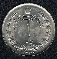 Iran, 1 Rial 1348 (=1969), UNC - Iran