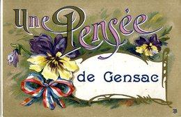 33  UNE PENSEE DE GENSAC - Francia