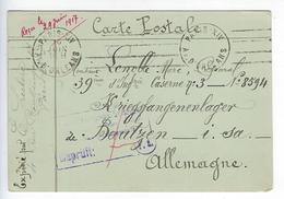 CPA Guerre 1914 1918 Prisonnier De Guerre Bautzen - Guerra 1914-18