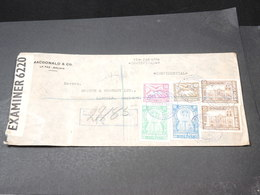 BOLIVIE - Enveloppe En Recommandé De La Paz Pour La Grande Bretagne En 1942 Avec Contrôle Postal - L 19573 - Bolivie