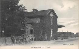 CPA 80 -  BEAUQUESNE - La Gare - Beauquesne