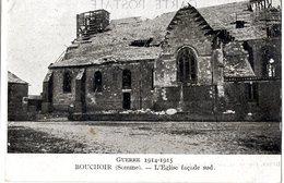80  BOUCHOIR  - L EGLISE FACADE SUD - France