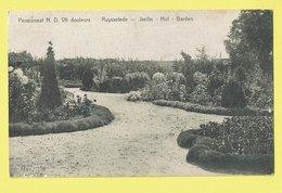* Ruiselede - Ruysselede * Pensionnat ND VII Douleurs, Jardin, Hof, Garden, école, School, Rare, Old, TOP, Unique - Ruiselede