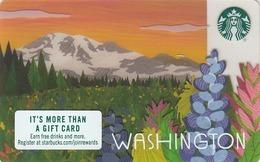 USA STARBUCKS - Washington 2018 , CN : 6153 - Gift Cards