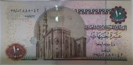 10 Pounds Egypt 2011 UNC--Okda (Egypte) (Egitto) (Ägypten) (Egipto) (Egypten)  Africa - Egipto